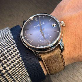 H. & Moser Cie. Perpetual Calendar blue dials