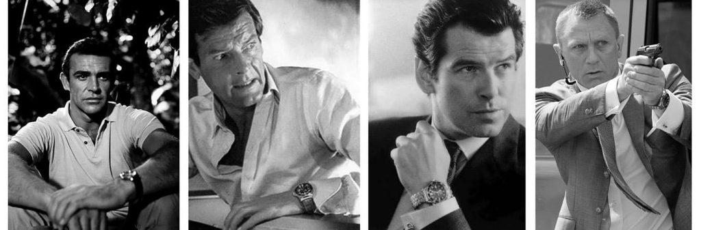 James Bond Watches Rolex Omega complication