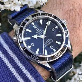 Omega Seamaster Professional blue Nato WB Original by @apiacreations