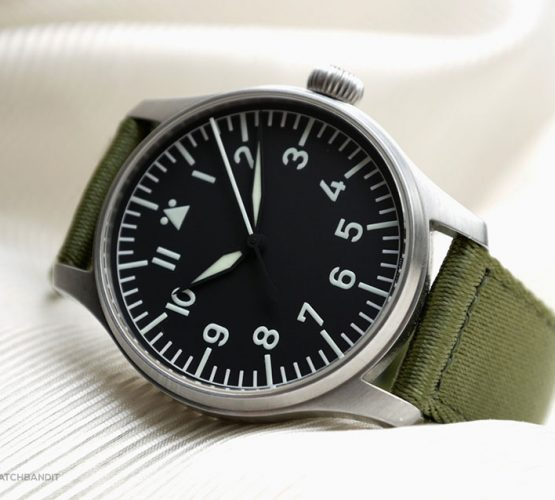 Stowa Flieger pilotswatch on WB Original two-piece NATO strap @mikestuffler