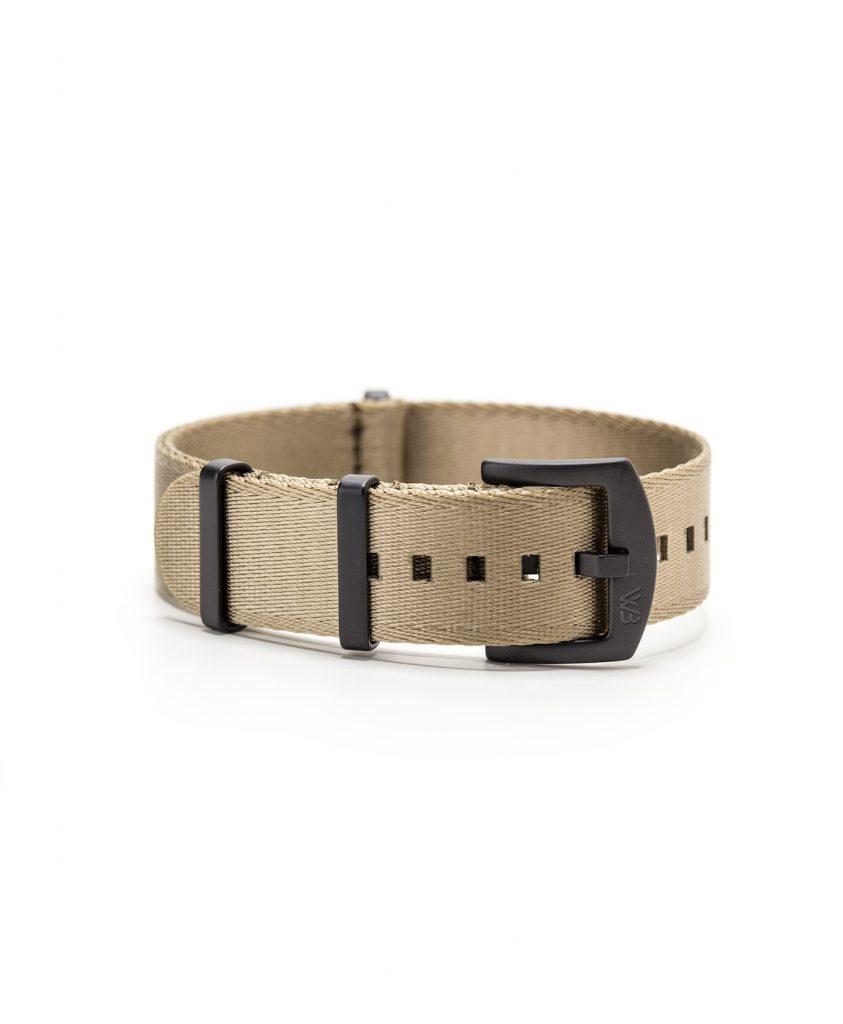 Watchbandit WB original Wristporn Nato strap in beige