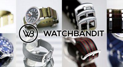 WatchBandit WB Original Straps banner