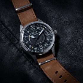 Black dial AVI-8 Hawker Hurricane AV-4046