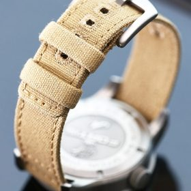 WB original Canvas watch strap beige
