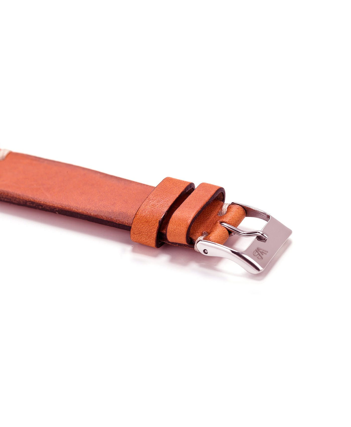 WB Original Vintage strap Cognac Brown side view