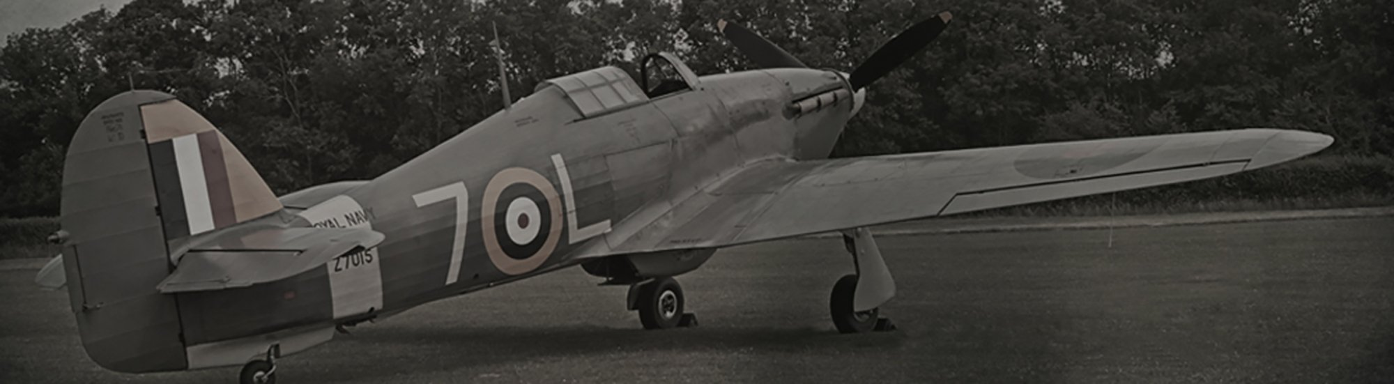Hawker Hurricane Aircraft Royal Air-force historic picture