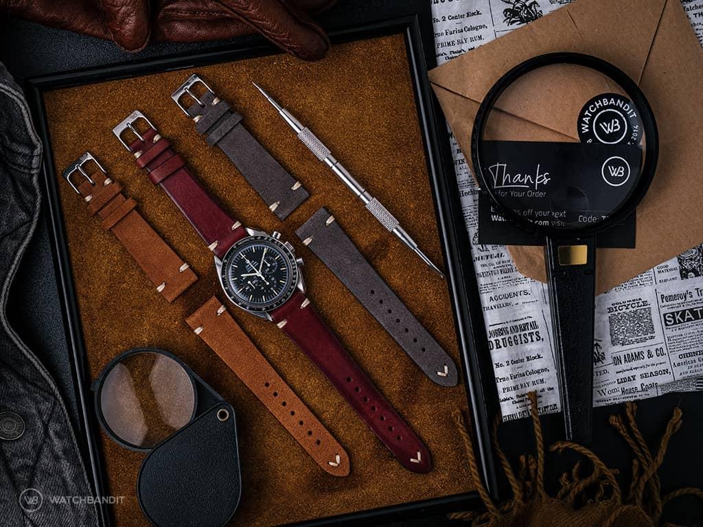 Best Omega Speedmaster Leather straps autumn style