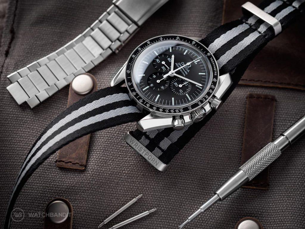 Omega Speedmaster Professional james bond NATO strap watchbandit
