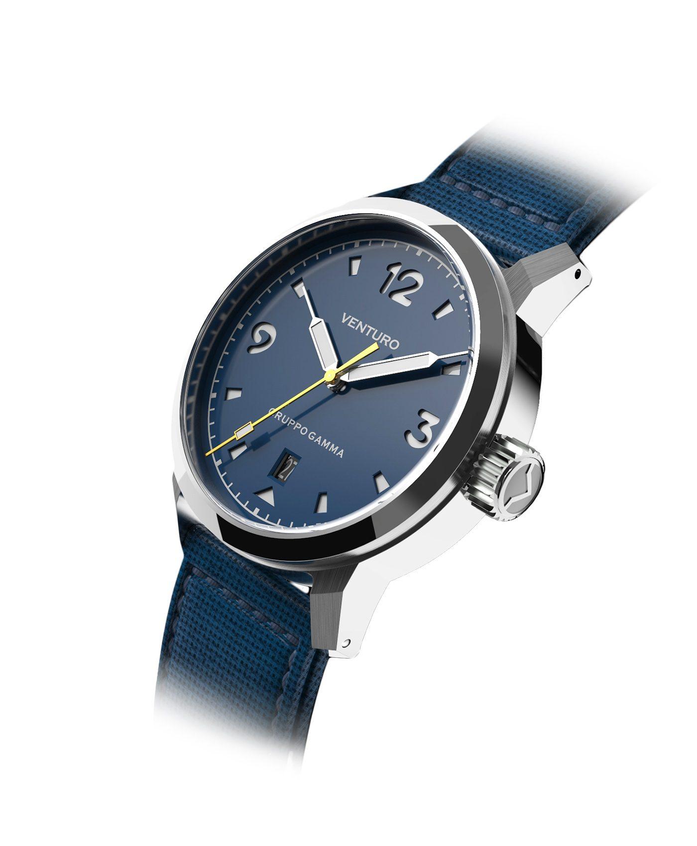 Venturo - Field Watch - Blue Dial & BGW9 markers