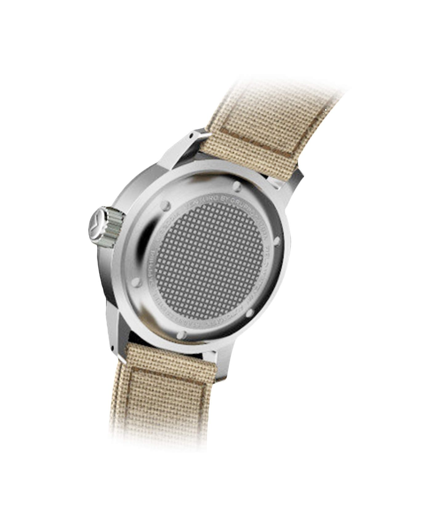 WB_Venturo - Field Watch - Cream Full Lume Dial-back