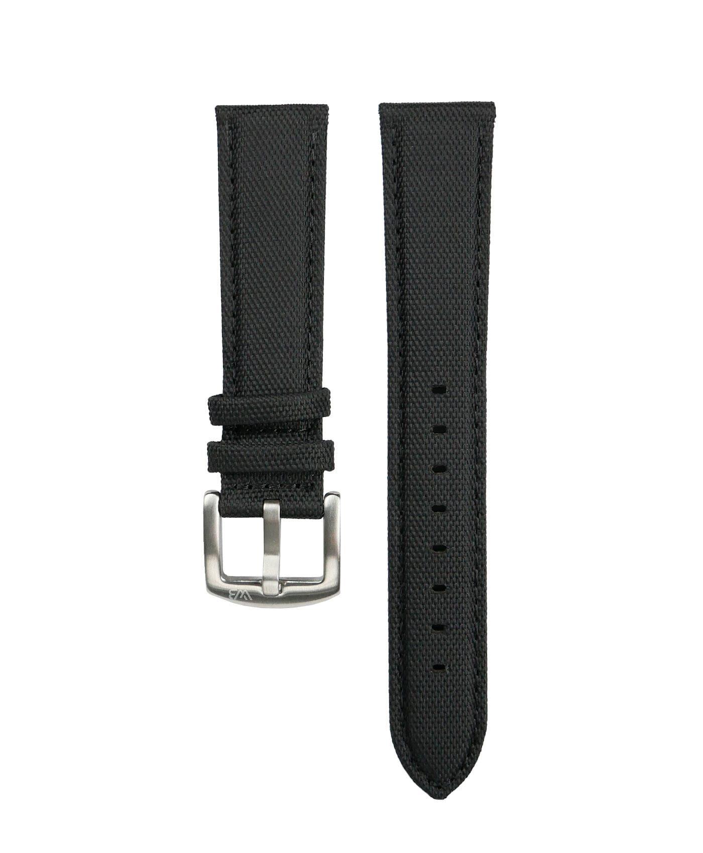 Cordura Watch Strap Black by Watchbandit
