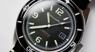 Spinnaker Fleuss SP-5055-02 close up dial