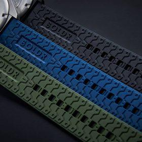 Boldr Explorer II silikon rubber strap