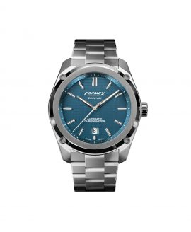 Formex Essence Automatic Chronometer Blue Stainless Steel Bracelet