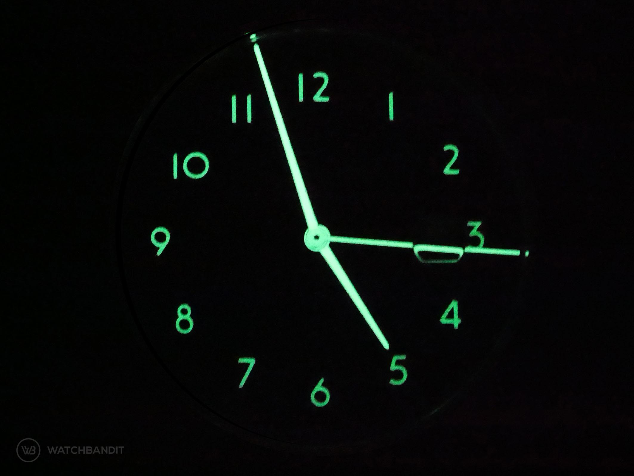 KRONHAUSER Watch lume