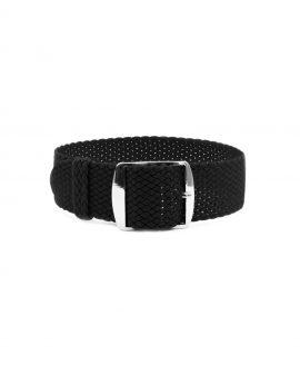 Watchbandit Premium Perlon Watch strap black
