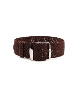 Watchbandit Premium Perlon Watch strap brown