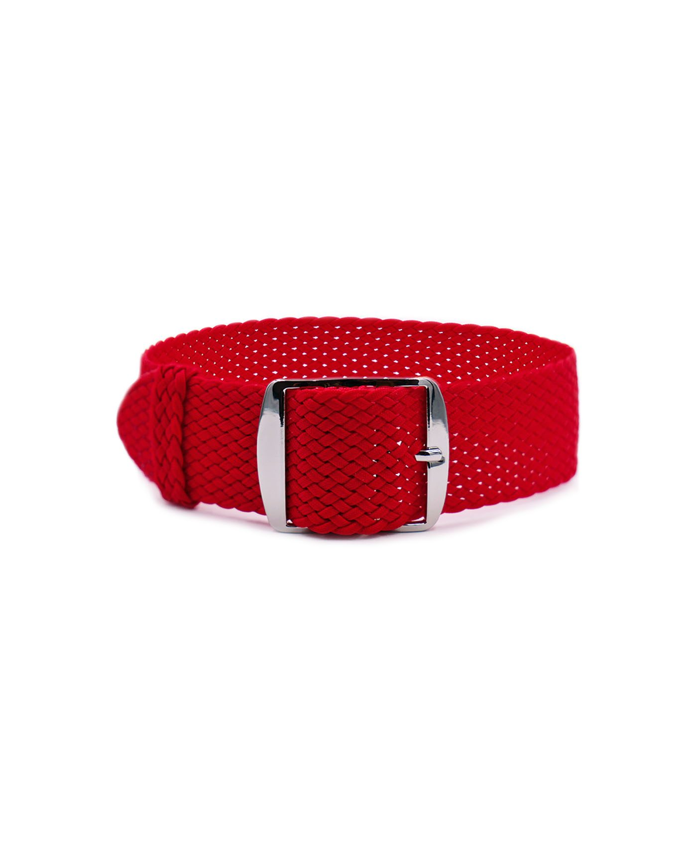 Watchbandit Premium Perlon Watch strap red