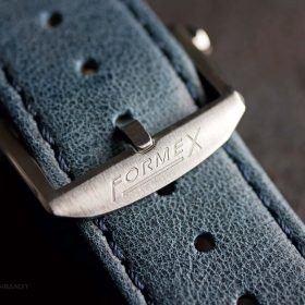 Stainless Steel Buckle of the Formex Essence Chronometer deployant clasp