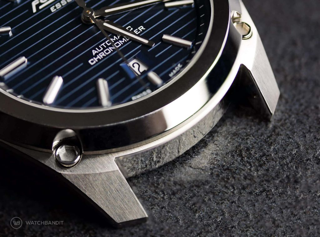 Formex Essence Chronometer Case Lugs Close up