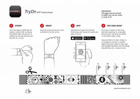 Formex Try-On App Instructions English