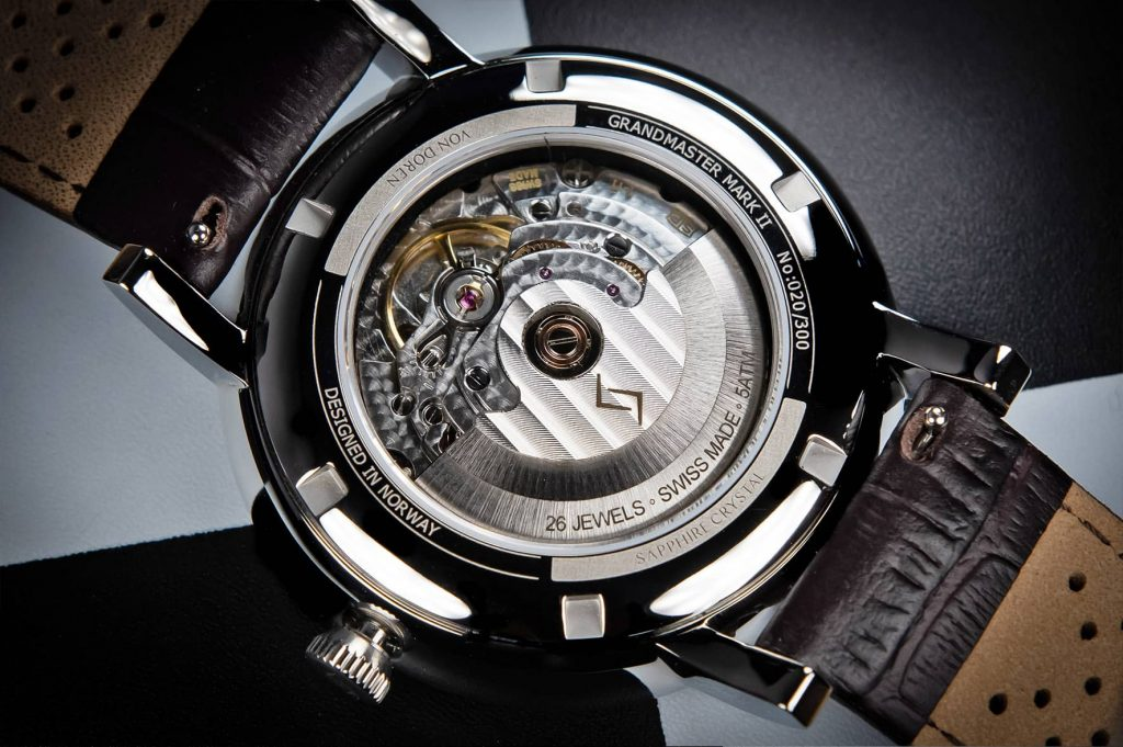 Von Doren Grandmaster Automatic STP 1-11 self-winding movement