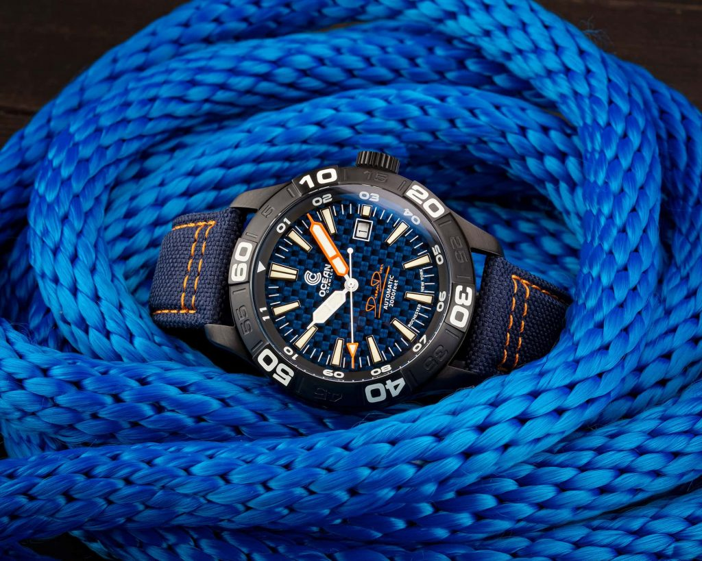 Ocean Crawler - Dream Diver - Blue Carbon Fiber DLC