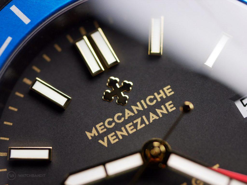 Meccaniche Veneziane Nereide GMT Macro Dial