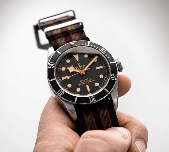 Tudor BlackBay 58 James Bond NATO strap by Watchbandit