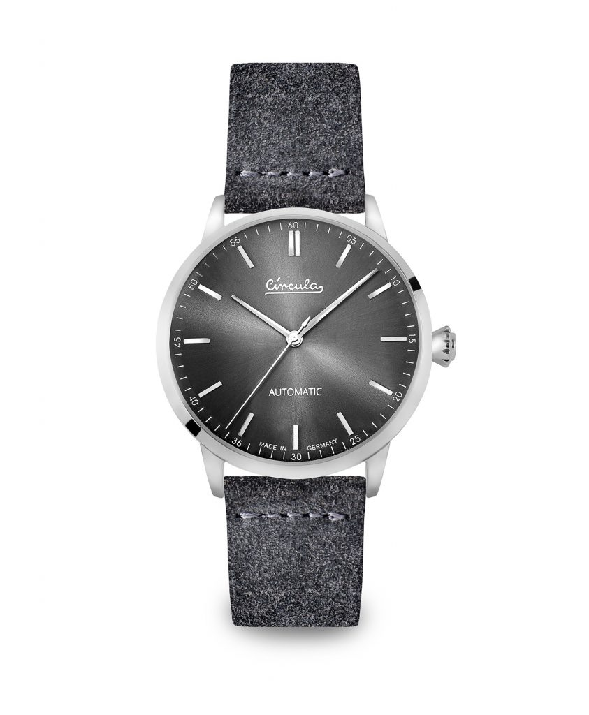 WB Circula - Classic Automatic Anthracite - Velour Anthracite front