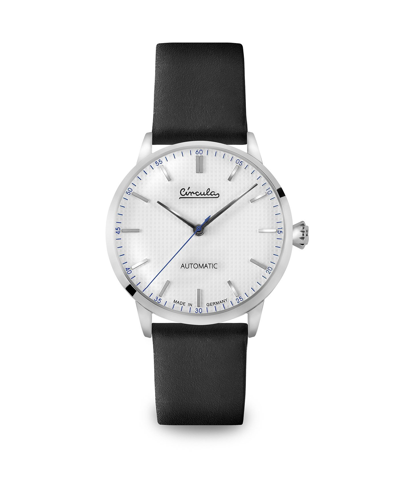 WB Circula - Classic Automatic White - Leather Black