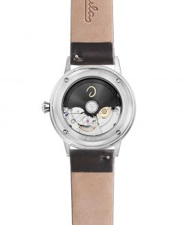 WB Circula - Classic Automatic White - Leather back
