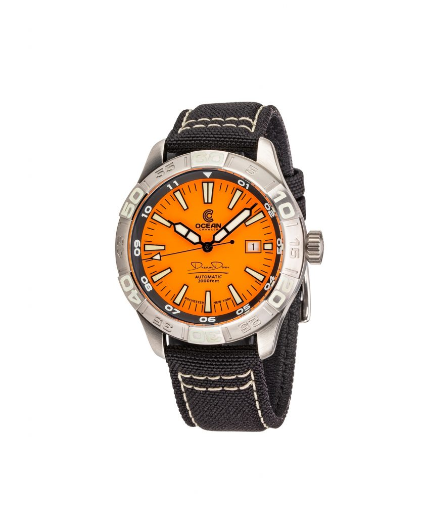 WB Ocean Crawler Dream Diver Dream Diver Orange Dial front