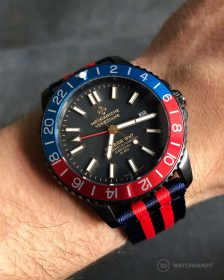WB Original Two-Piece NATO Blue/Red