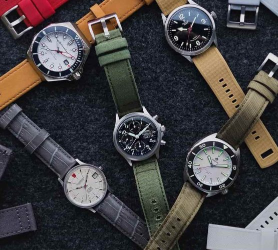 Different watch strap combinations by watchbandit