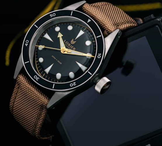 Lorier watches on cordura strap