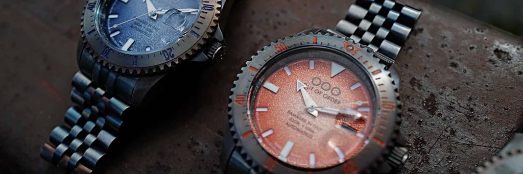 OOO Out of order watches header Automatico wristshot