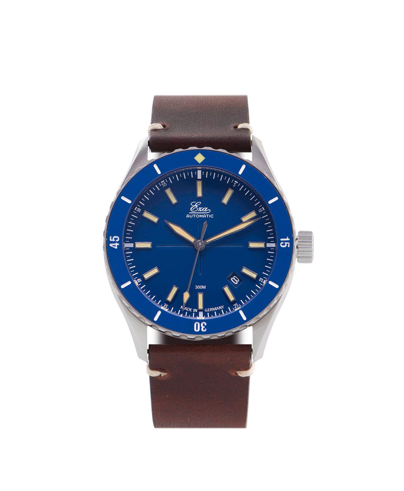 WB Eza Sealande blue – Blue –brown -front