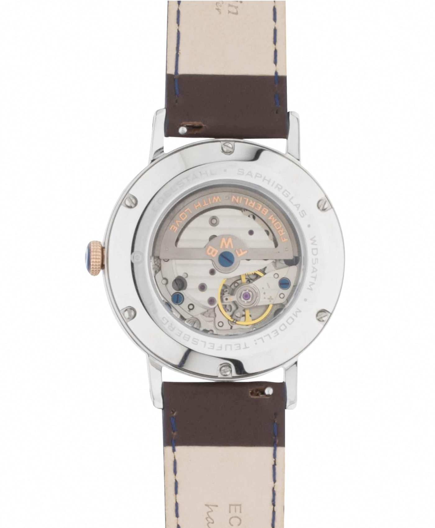 WB Watch fine watches berlin TEUFELSBERG rose 4 back
