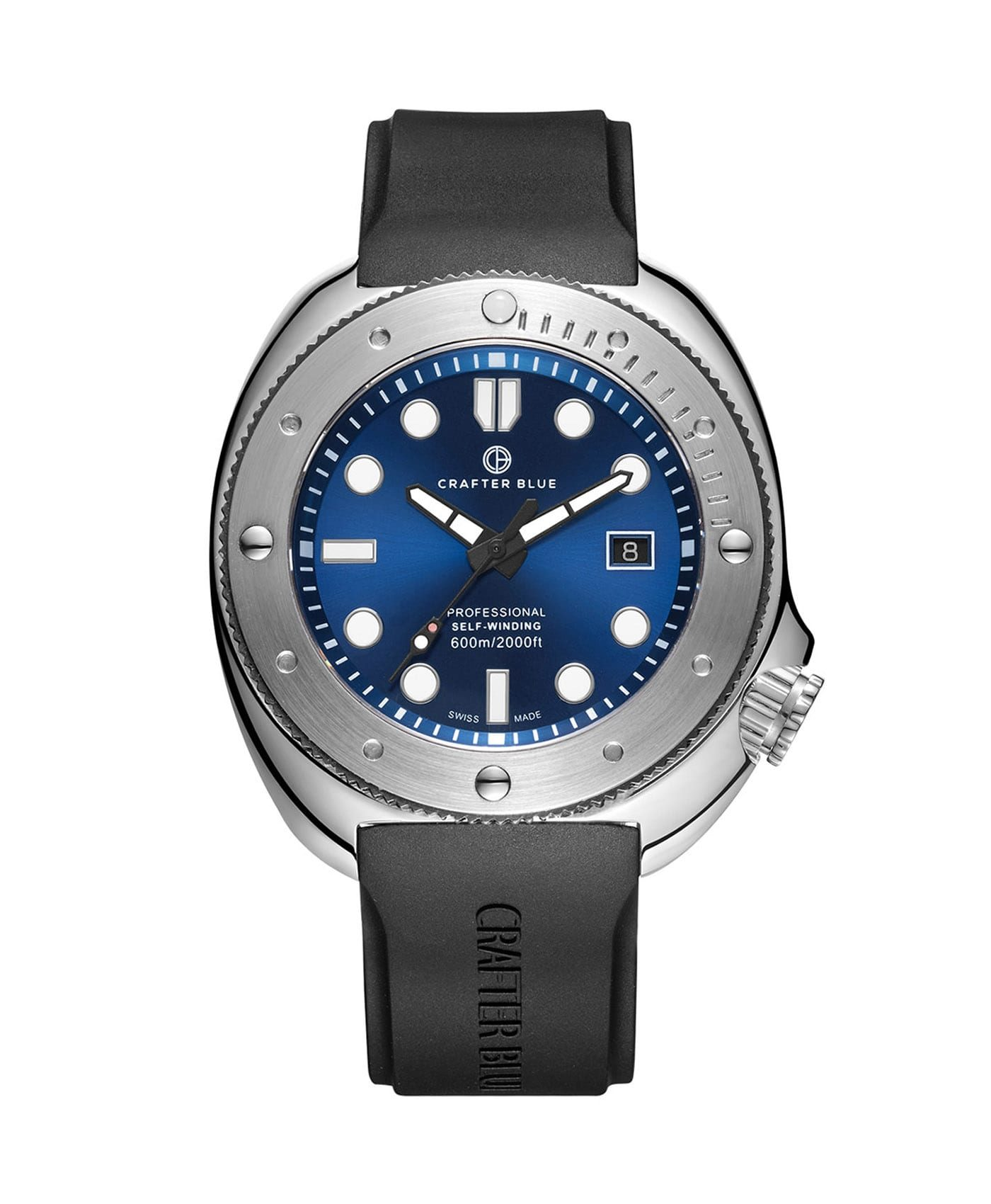 Crafter Blue CRAFTER BLUE HYPERION OCEAN 45MM blue dial front