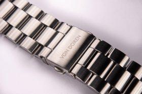 Von Doren URAED stainless steel bracelet clasp