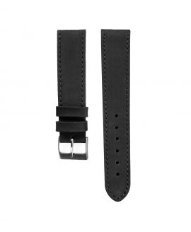 Pebro Premium Calfskin Watch Strap Black No 578