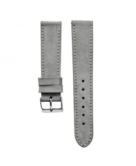 Pebro Premium Calfskin Watch Strap Grey No 582