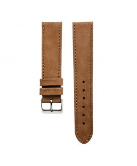 Pebro Premium Calfskin Watch Strap Hazelnut/Brown No 191