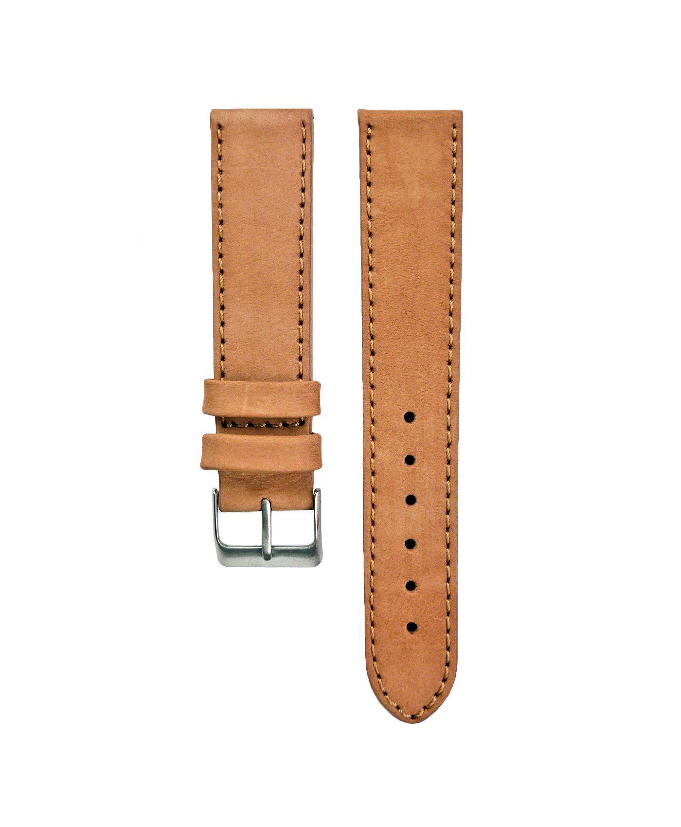Pebro Premium Calfskin Watch Strap Terracotta Tanned No 190