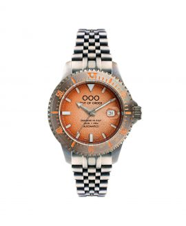 WB Watch Out Of Order Orange Swiss Automatico front