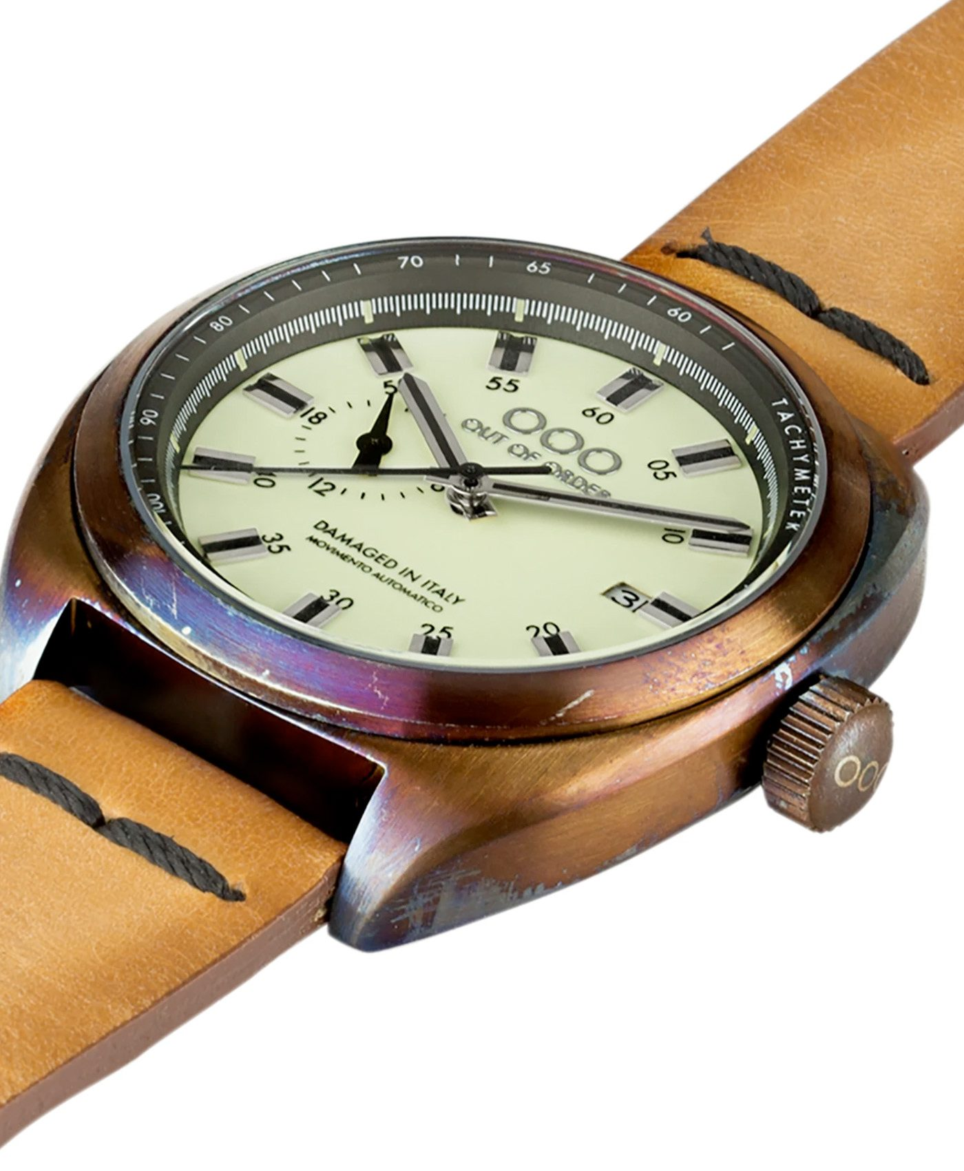 WB Watch Out Of Order Torpedine cream side