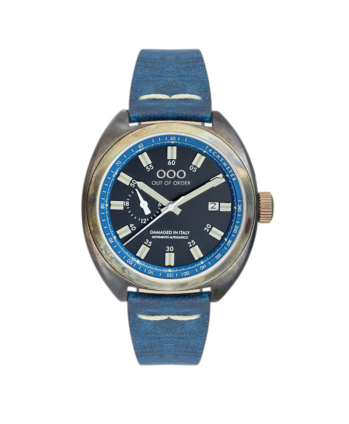 WB Watch Out Of Order Torpedine Blue front