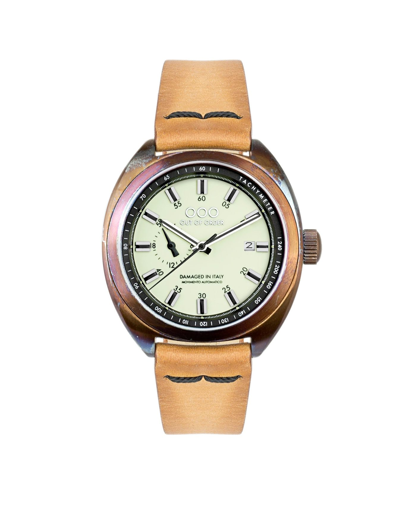 WB Watch Out Of Order Torpedine Cream front