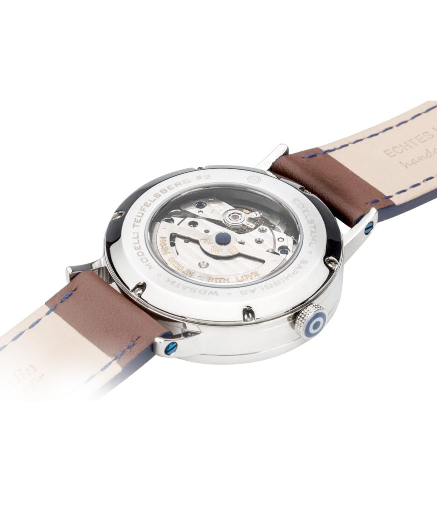 WB Watch fine watches berlin TEUFELSBERG white back